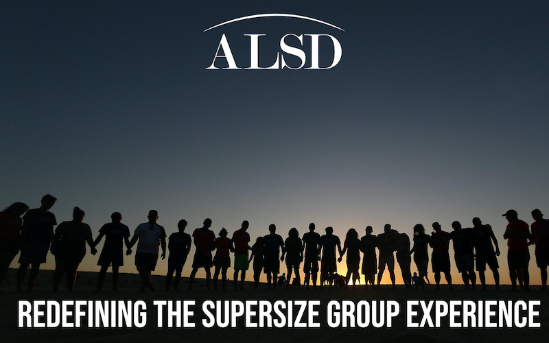 Redefining the Supersize Group Experience