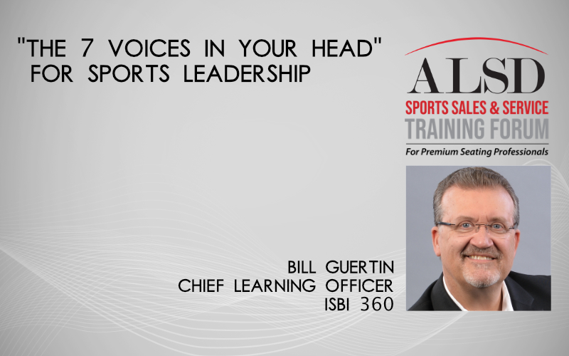 """The 7 Voices in Your Head"" for Sports Leadership"