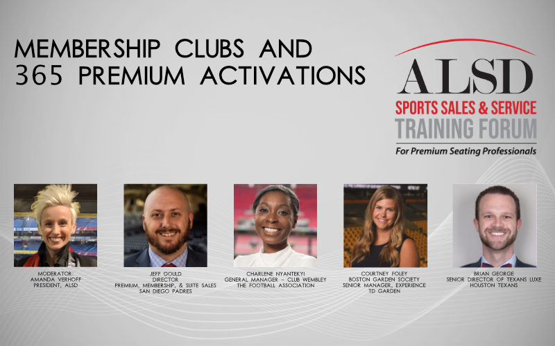 Membership Clubs and 365 Premium Activations