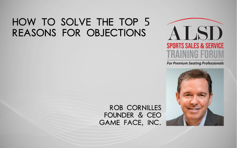 How to Solve the Top 5 Reasons for Objections