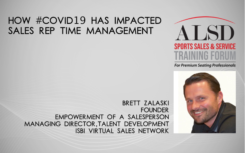 How #COVID19 Has Impacted Sales Rep Time Management