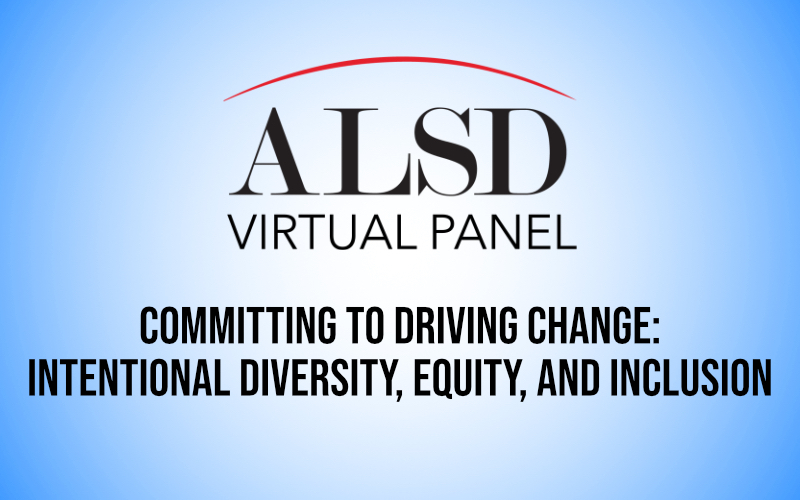 Committing to Driving Change: Intentional Diversity, Equity, and Inclusion