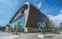 Fiserv Forum, Photo Credit: Kenny Yoo, Milwaukee Bucks