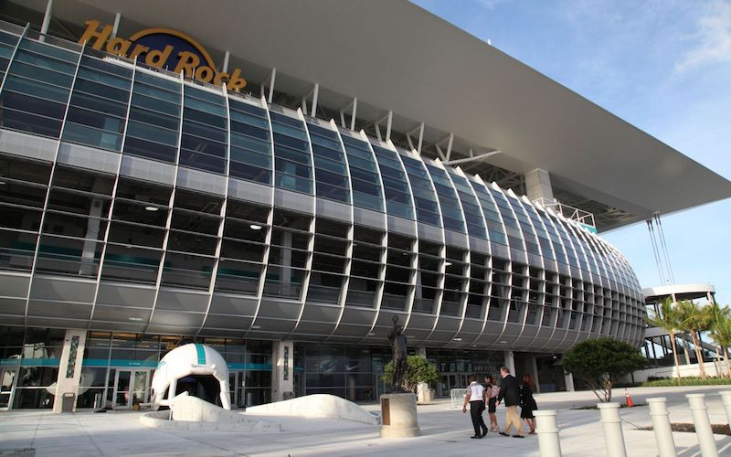 Hard Rock Stadium, Home of the Miami Dolphins