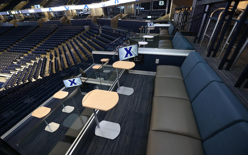 Loge Seating in the Joseph Club at Cintas Center