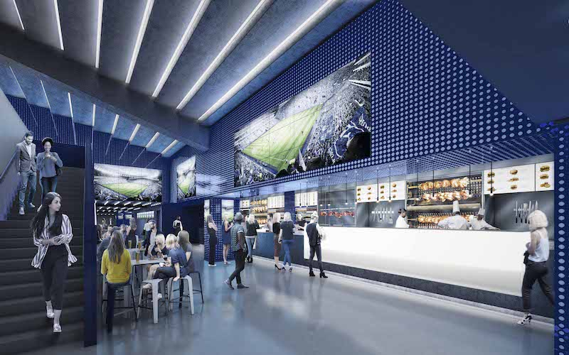 Tottenham Hotspur Lower Lounge
