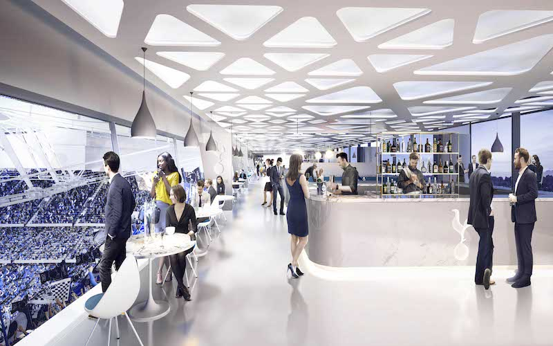 Tottenham Hotspur Sky Lounge